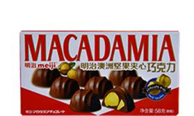 澳洲坚果夹心巧克力 58克